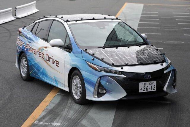 خودروی خورشیدی تویوتا حتی شب ها خاموش نمی گردد