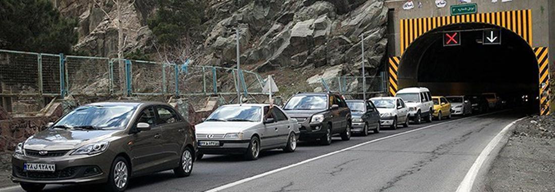 جاده هراز برای سه روز بسته شد ، جهت جایگزین به مسافران اعلام شد