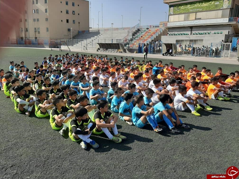 شروع استعدادیابی فرهنگستان فوتبال باشگاه مس کرمان