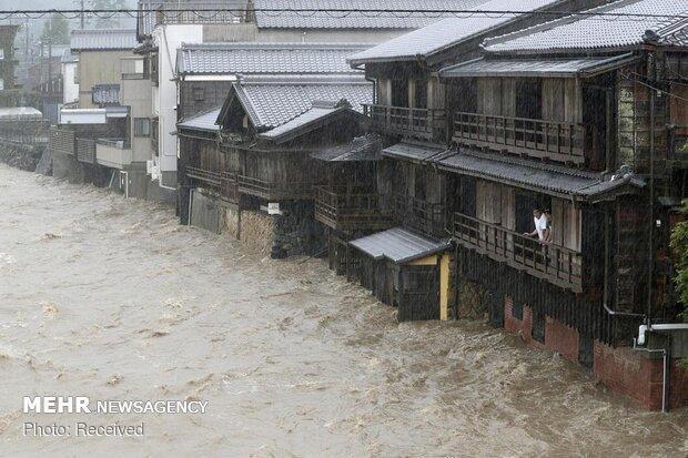هاگیبیس در توکیو 10 کشته و 16 مفقودی بر جای گذاشت