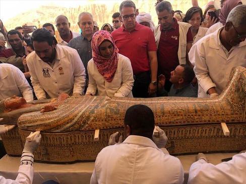 کشف 20 تابوت مومیایی جدید در مصر (