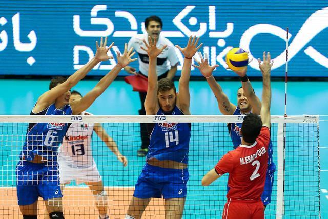 ترکیب 12 تیم والیبال حاضر در المپیک ریو