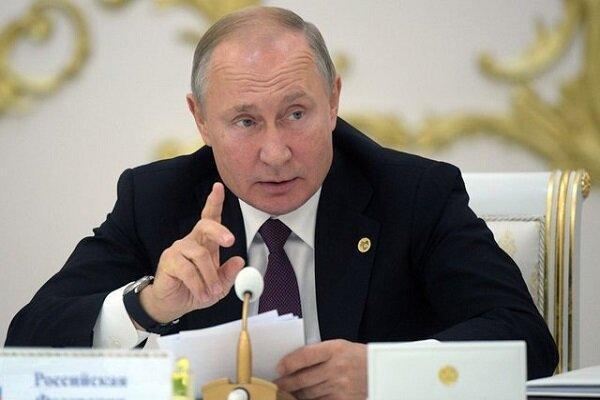 نشست پوتین با اعضای شورای امنیت ملی روسیه
