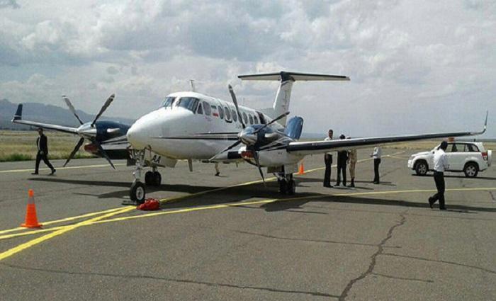 انجام پرواز آزمایشی فرودگاه یاسوج پس از 73 روز از سقوط پروازتهران- یاسوج