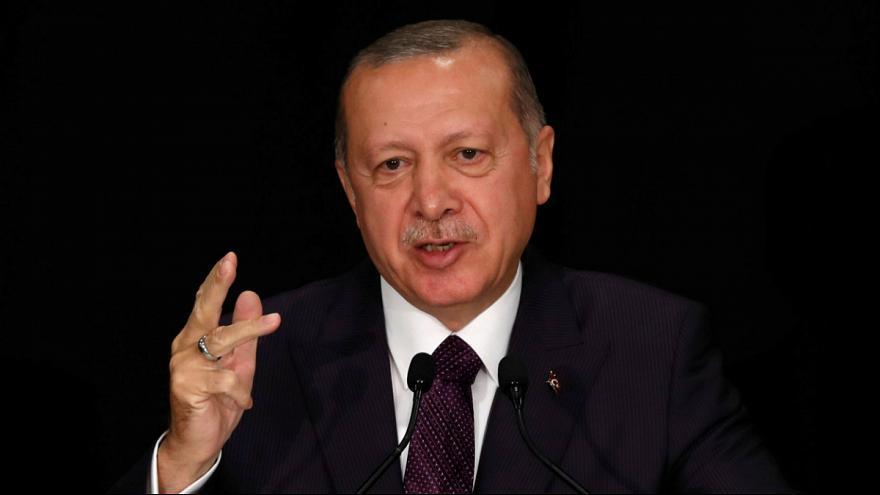 اردوغان: یک غیرنظامی هم در عملیات شمال سوریه خراش برنداشت