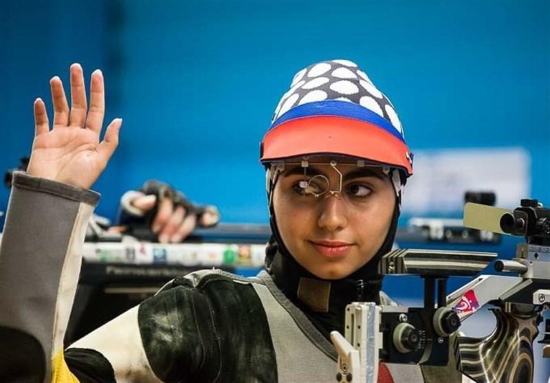 تیراندازی قهرمانی آسیا، فاطمه کرم زاده المپیکی شد، تیم بانوان نقره ای شد