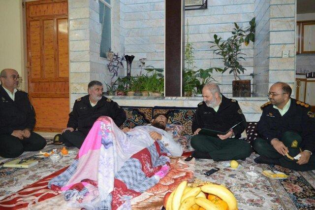 کارکنان ناجا در تامین نظم و امنیت کشور تا پای جان ایستاده اند