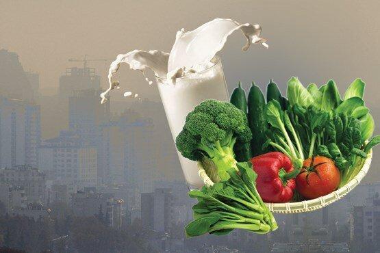 باید و نبایدهای خوراکی در روزهای آلودگی هوا