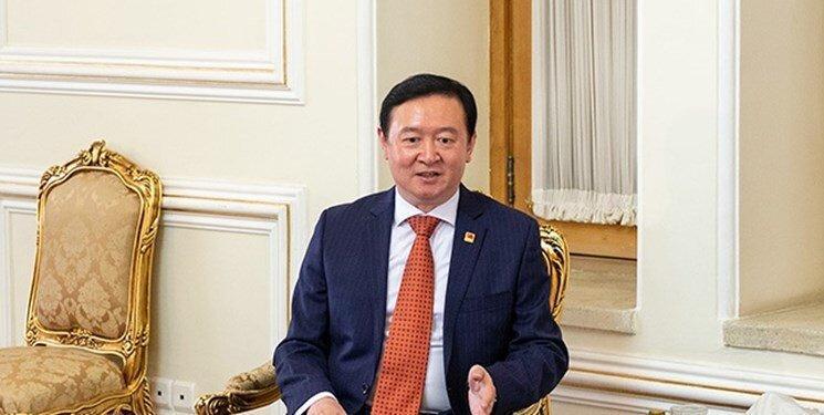 توئیت سفیر چین در واکنش به اقدامات تهران در پی شیوع ویروس کرونا