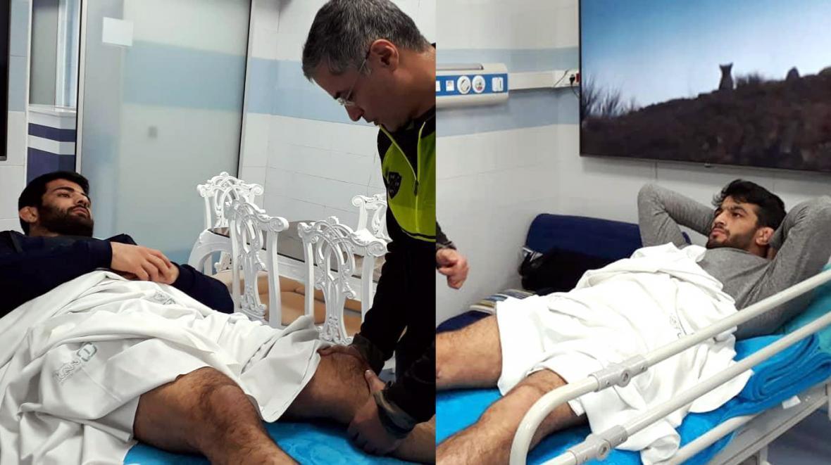 عمل جراحی آرتروسکوپی برای حسن یزدانی، کریمی در انتظار MRI