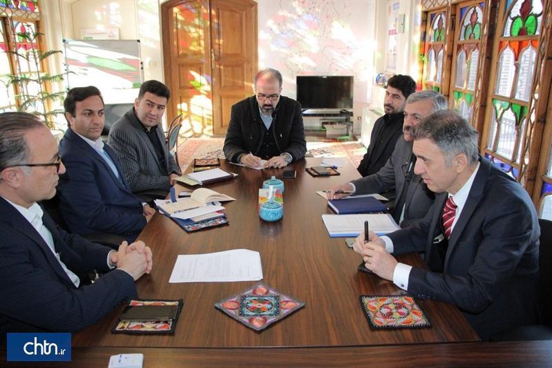 تبادل تجارب با ترکیه در مورد بازار تاریخی تبریز و روستای کندوان