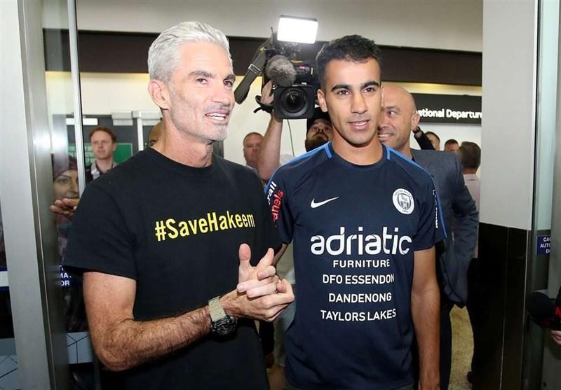 فوتبالیست مخالف دولت بحرین با استقبال مردم به استرالیا بازگشت