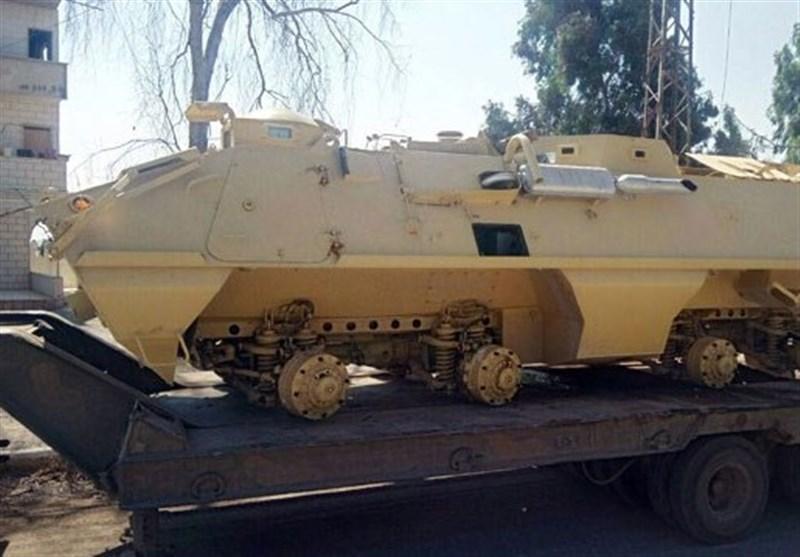 سوریه، استقرار تانک و خودروهای نظامی ارتش در اطراف درعا