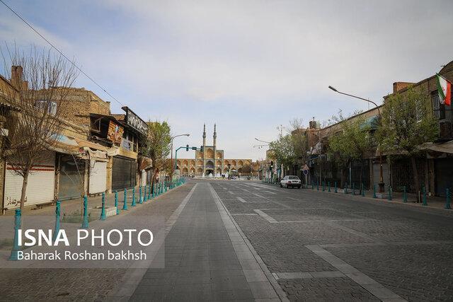 معابر خلوت شهر تاریخی گردشگری یزد