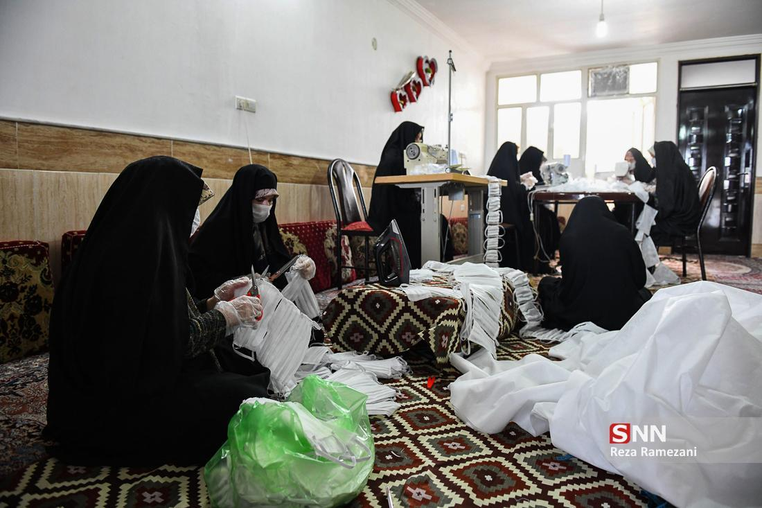 گزارش عملکرد روز بیست ونهم قرارگاه جهادی مبارزه با کرونا