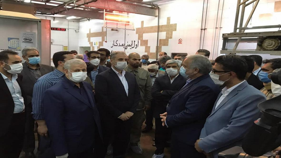 وزیر جهاد کشاورزی از کشتارگاه صنعتی شهرستان هامون دیدن کرد