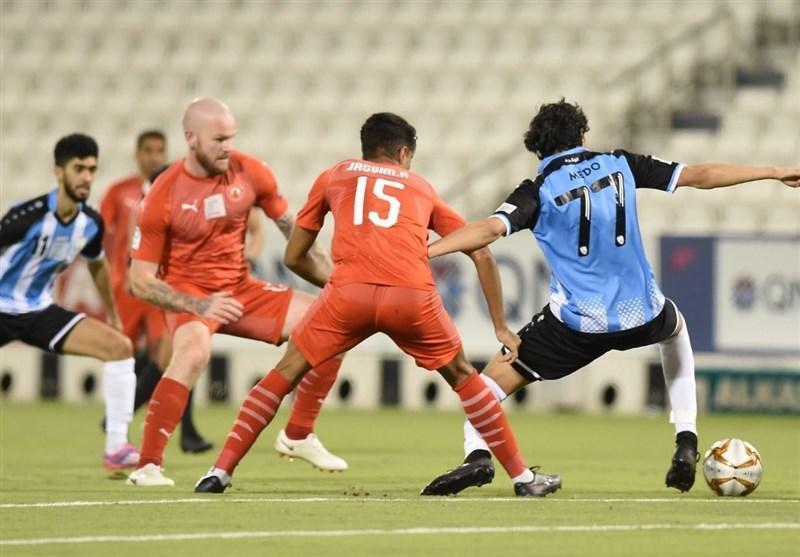 لیگ ستارگان قطر، شکست العربی 10 نفره در شب نیمکت نشینی پورعلی گنجی