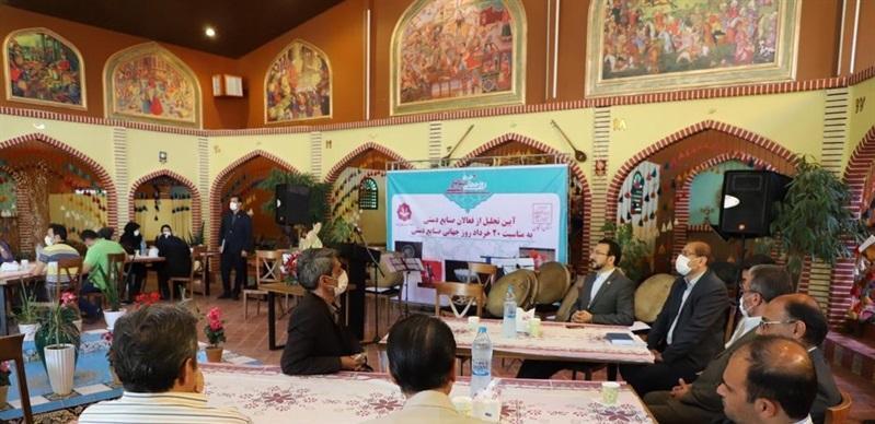 صنعت ملیله کاری در زنجان توسعه داده می شود