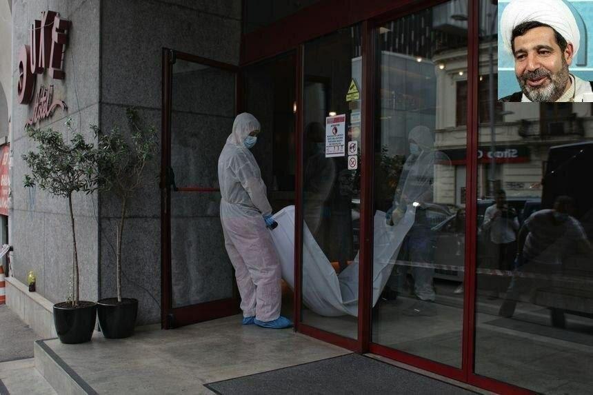 اولین عکس جسد قاضی منصوری در بیرون هتلی در رومانی