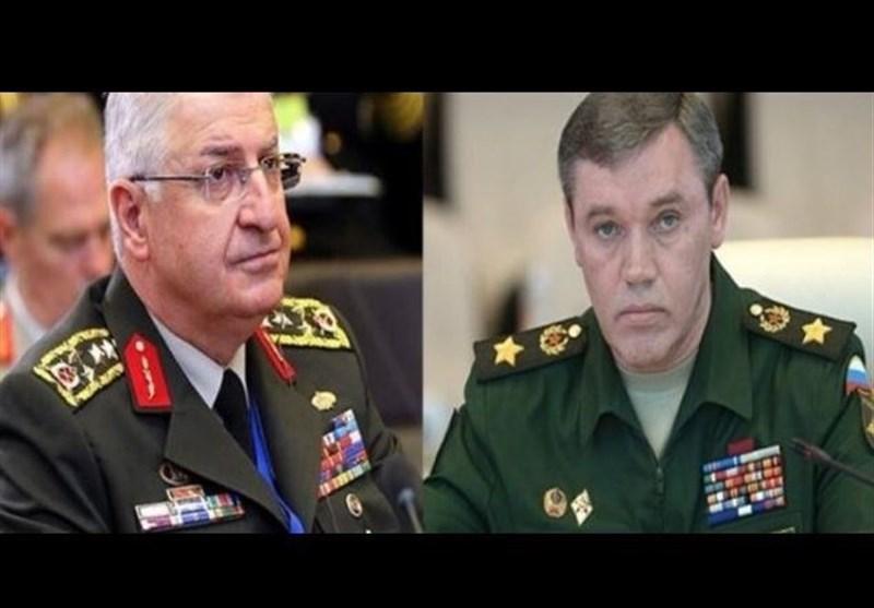 گفت وگوی تلفنی روسای ستاد کل نیروهای مسلح ترکیه و روسیه درباره لیبی