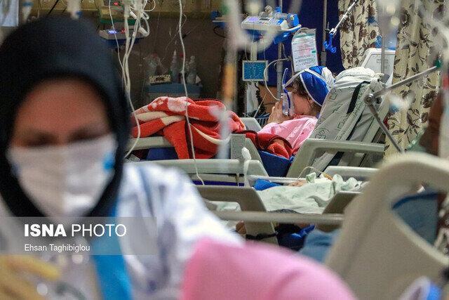 افزایش بیماران کرونایی بستری در بیمارستان های زنجان