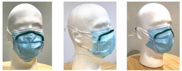 بهبود استفاده همزمان از ماسک و عینک با ابزاری جدید