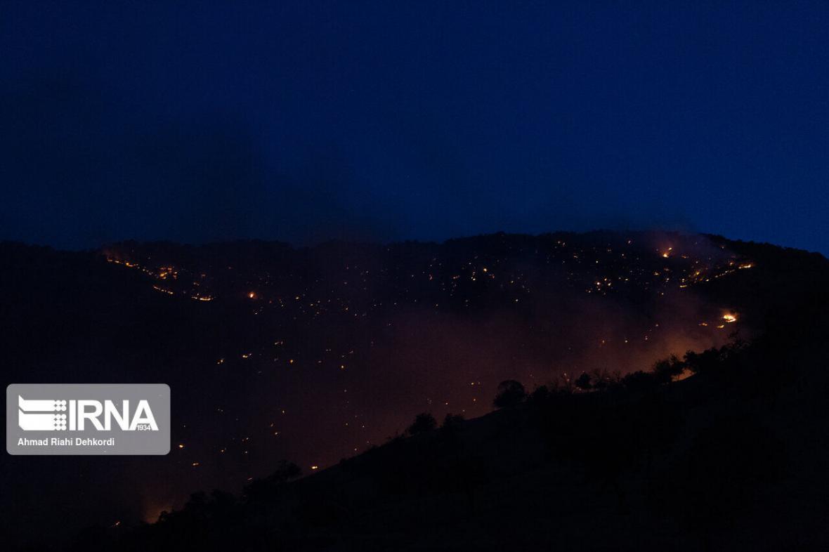 خبرنگاران آتش در سه منطقه اندیکا شعله ور شد