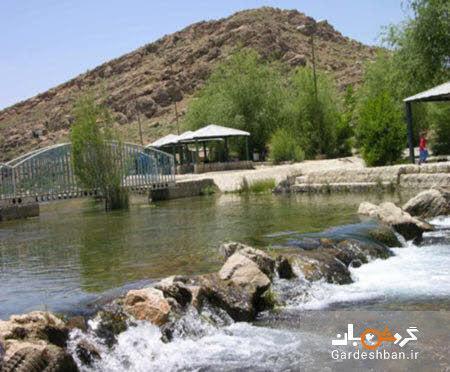 چشمه دیمه؛ مکان مورد علاقه گردشگران شهرستان کوهرنگ، عکس