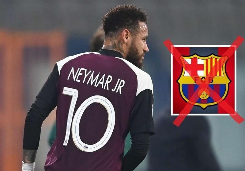 نیمار به بارسلونا برنمی شود و قراردادش را با PSG تمدید می نماید