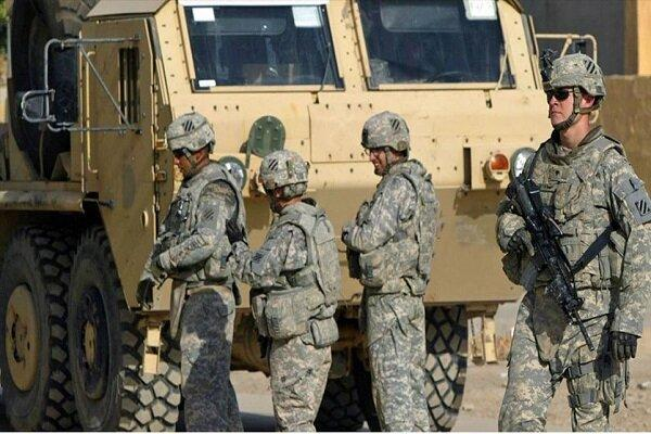 ستون نظامی آمریکایی در نزدیکی بغداد هدف نهاده شد