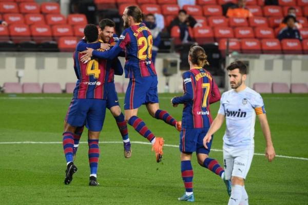 تساوی ناامید کننده بارسلونا مقابل والنسیا در شب پراشتباه دفاعی، پیروزی ارزشمند منچسترسیتی در زمین ساوتهمپتون