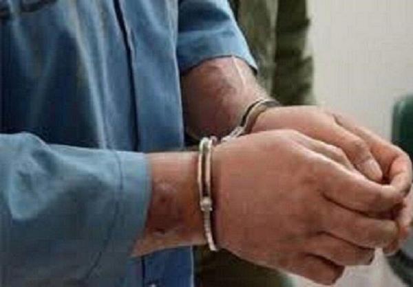 خبرنگاران سارق حرفه ای لوازم منزل در بروجرد دستگیر شد