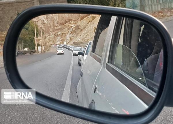خبرنگاران تردد در جاده خرم آباد-پلدختر برقرار شد