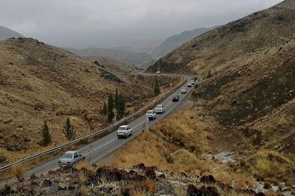 انسداد جاده کندوان تا ساعت 17 امروز، ترافیک سنگین در آزادراه قزوین-کرج و جاده شهریار-تهران
