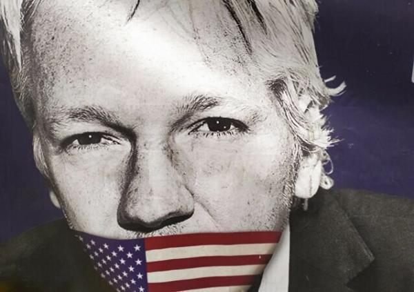 وزارت دادگستری آمریکا: همچنان به دنبال استرداد جولیان آسانژ هستیم