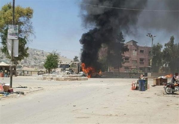 انفجار یک خودروی بمب گذاری شده در حومه شمالی حلب