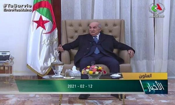 رئیس جمهور الجزایر خواستار برگزاری انتخابات زودهنگام پارلمانی شد