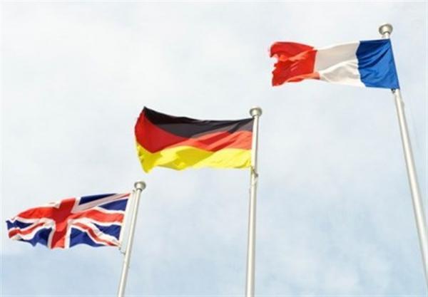 بیانیه تروئیکای اروپایی در مورد پس دریافت قطعنامه پیشنهادی علیه ایران؛ همچنان از اقدامات ایران نگرانیم