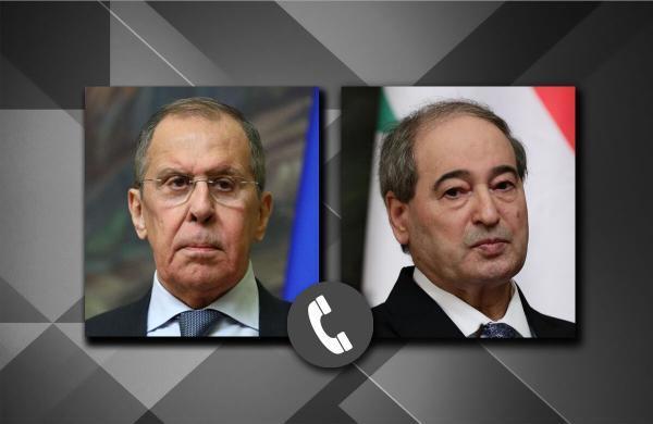 خبرنگاران لاوروف با همتای سوری درباره حل بحران سوریه گفت و گو کرد