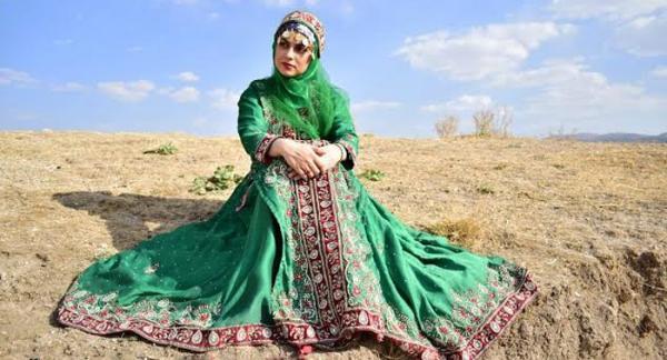 مدل لباس لری زنانه (لر فیلی، لر بختیاری و لر مناطق جنوبی)