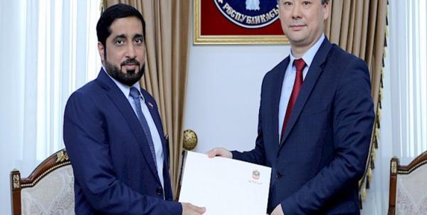 تاکید مقامات ارشد قرقیزستان و امارات بر گسترش همکاری های دوجانبه