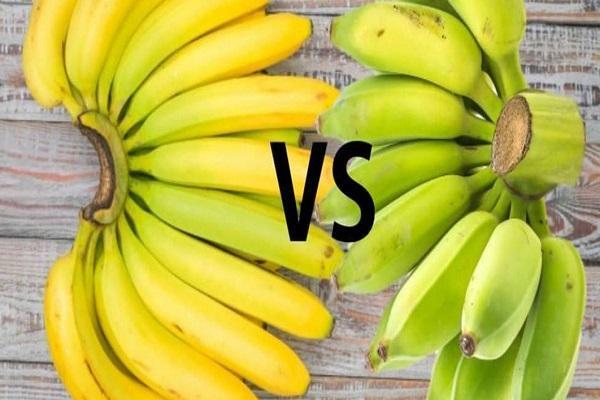 تفاوت های موز سبز و زرد از لحاظ خواص
