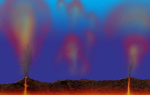 شرایط حیات در قمر اروپا ممکن است با آتشفشان های اقیانوسی فراهم شده باشد