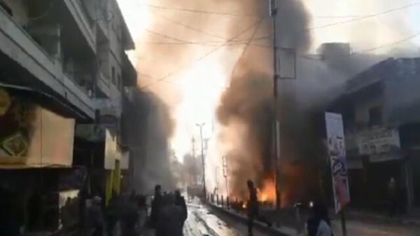 بیش از 50 کشته و زخمی در حمله راکتی ترکیه به عفرین سوریه