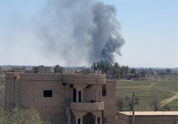 وقوع انفجارهای پی در پی در پایگاه نظامیان آمریکایی در دیرالزور
