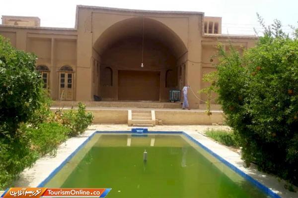 خانه قاجاری در بفروئیه میبد بازسازی شد