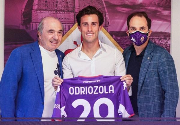 اودریوسولا رسماً به فیورنتینا پیوست