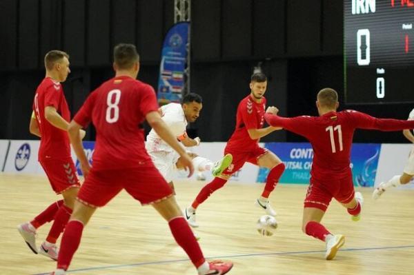 اعلام زمان بازی های گروهی تیم ملی ایران در جام جهانی فوتسال